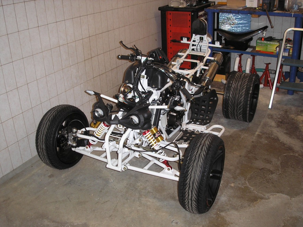 E-Streetquad Disassembly started