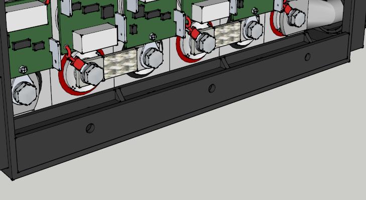 E-Streetquad Accu klem toegevoegd in 3D tekening