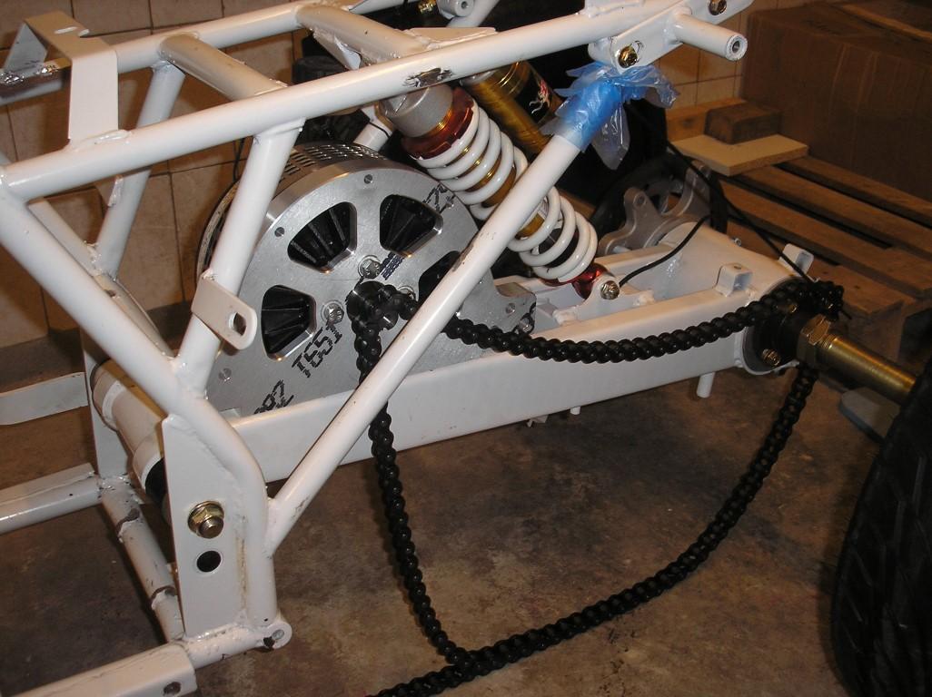 E-Streetquad Motor mount done