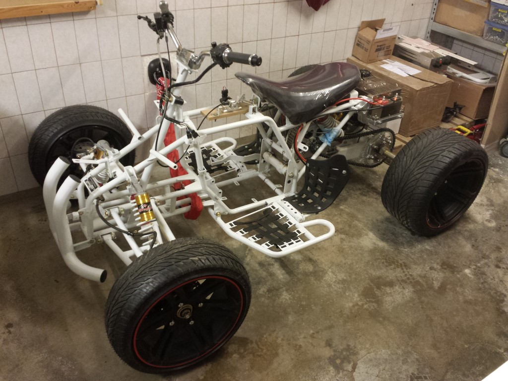 E-Streetquad Just a small update