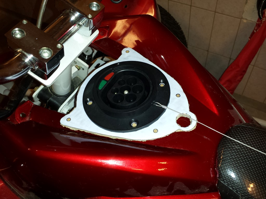 E-Streetquad Drawings and fitting of plates for the gauges and charge inlet