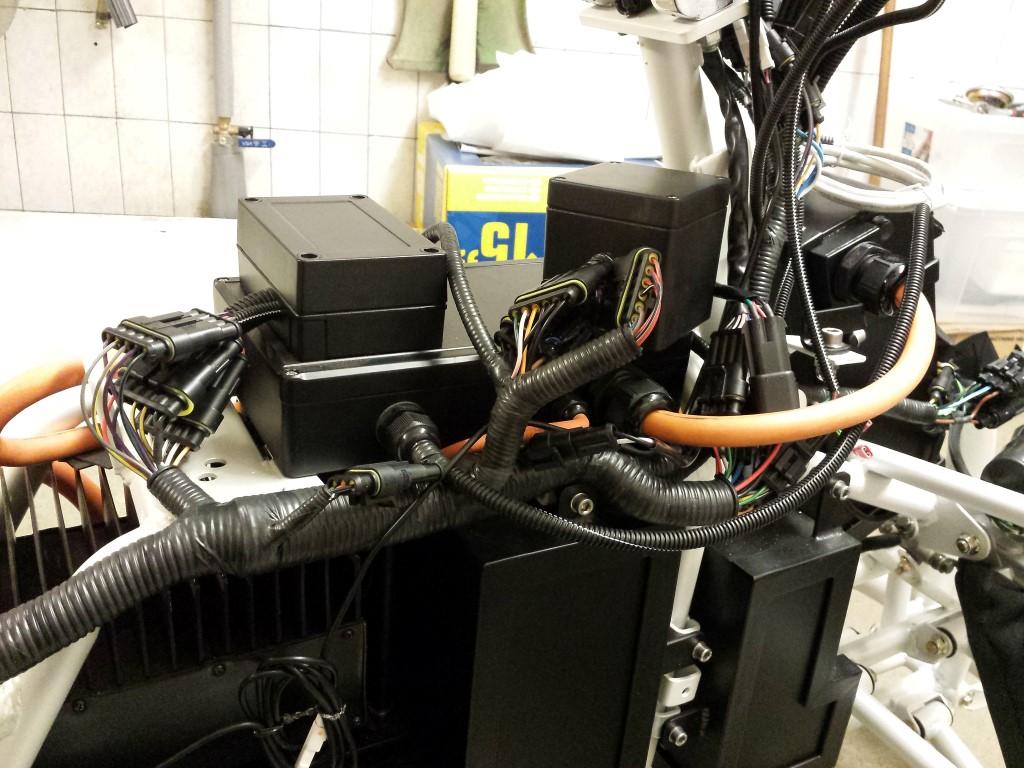 E-Streetquad Eerste reparaties na de testrit