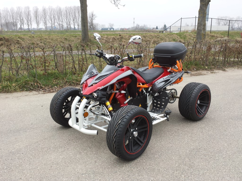 E-Streetquad Quad bike revealed and third test ride at high speed