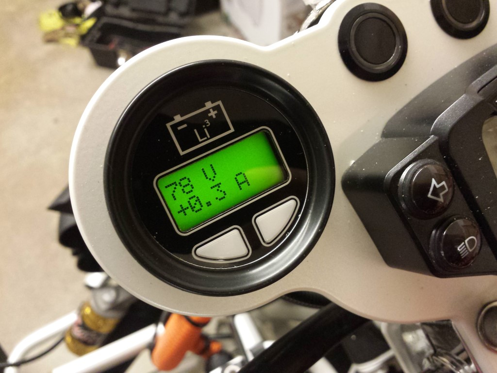 E-Streetquad Nieuwe teller en controle van motor