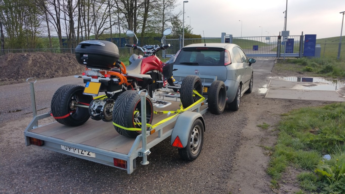 E-Streetquad Quad bike not approved yet