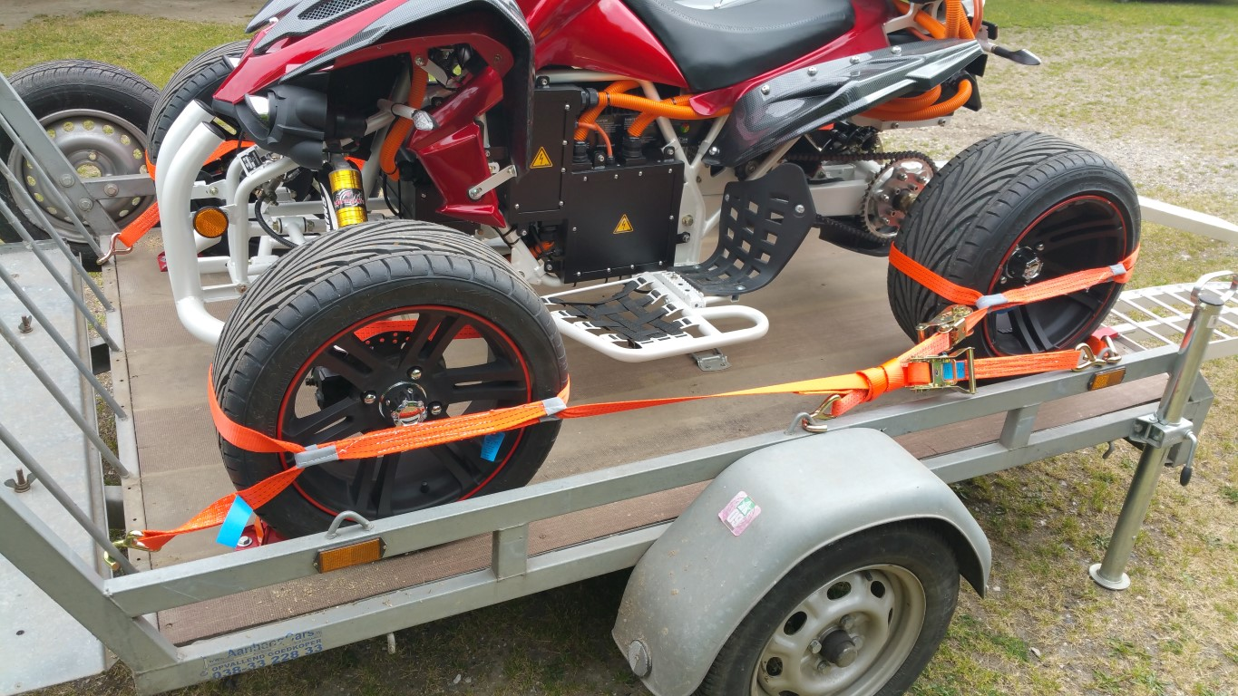 E-Streetquad Problems with brake system now solved completely