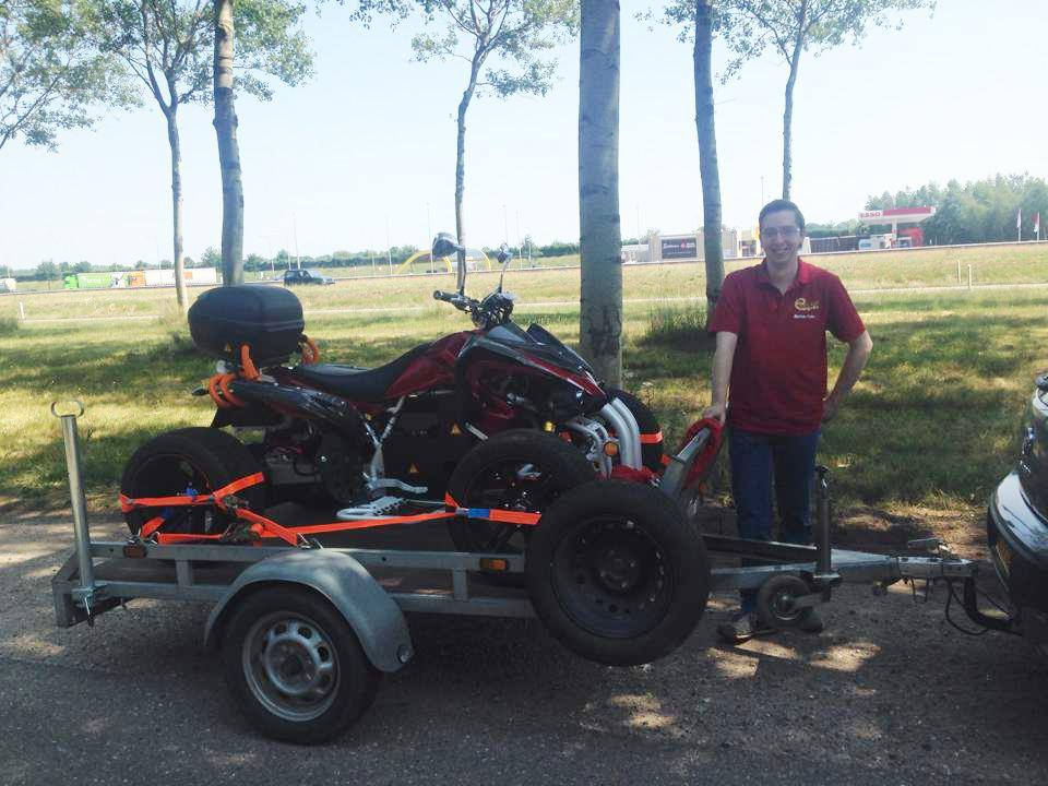 E-Streetquad Quad bike approved!