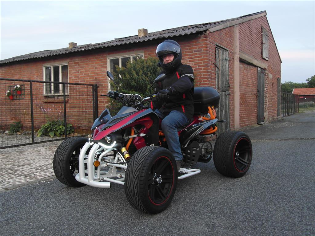 E-Streetquad First few road legal test runs