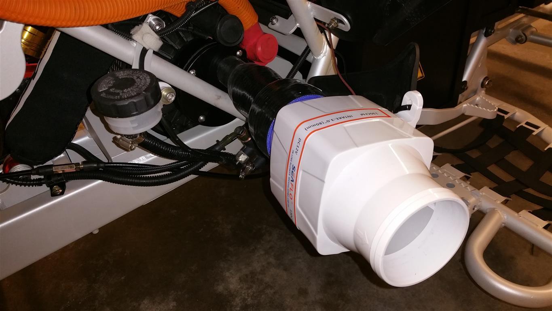 E-Streetquad Koeling van motor verbeterd