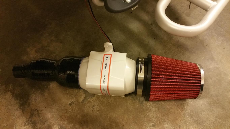 E-Streetquad Probleem met motor temperatuur opgelost