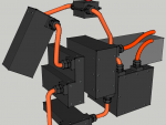 E-Streetquad All battery boxes done in 3D drawing