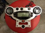 E-Streetquad Quad bike dismantled, gauge and charge plate done and some new parts