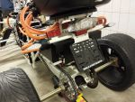 E-Streetquad Motor and controller covered up, rear lights attached